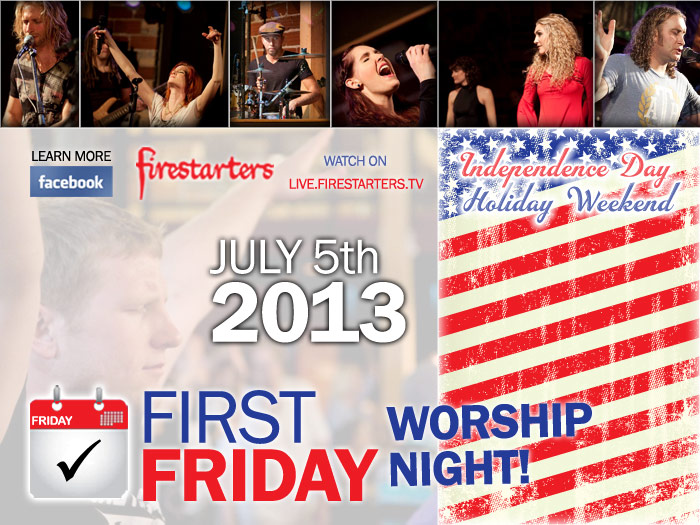 First Friday: July